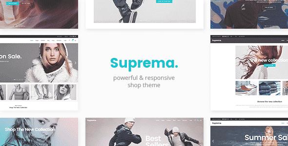 Tema Suprema - Template WordPress