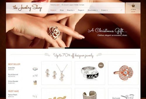 TEma The Jewelry SHop Yith - Template WordPress