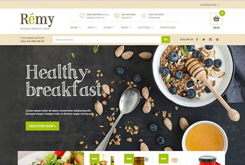 Tema Remy Yith - Template WordPress