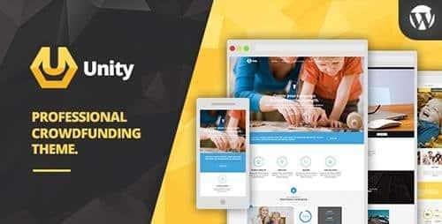 Tema Unity - Template WordPress