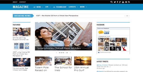 Tema Magazine Themify - Template WordPress
