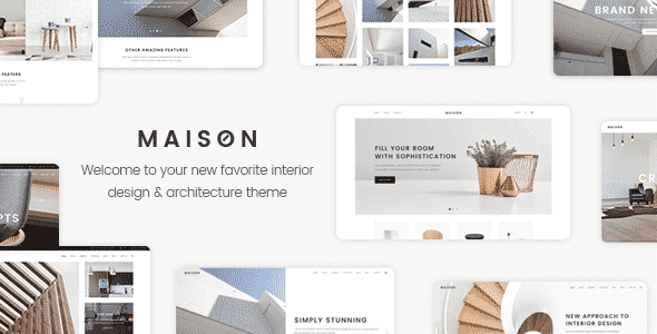 Tema Maison - Template WordPress