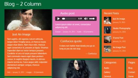 Tema Metro Themify - Template WordPress