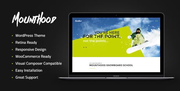 Tema MountHood - Template WordPress