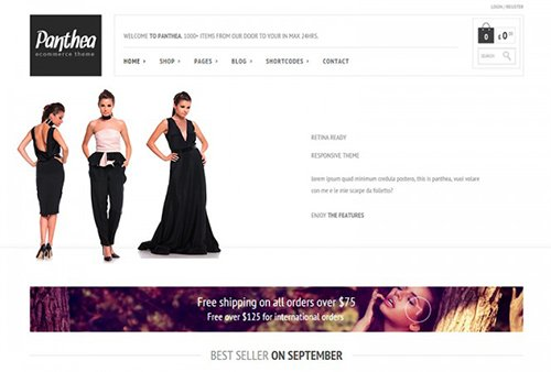 Tema Panthea Yith - Template WordPress