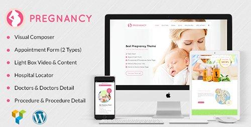 Tema Pregnancy - Template WordPress