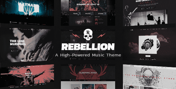 Tema Rebellion - Template WordPress