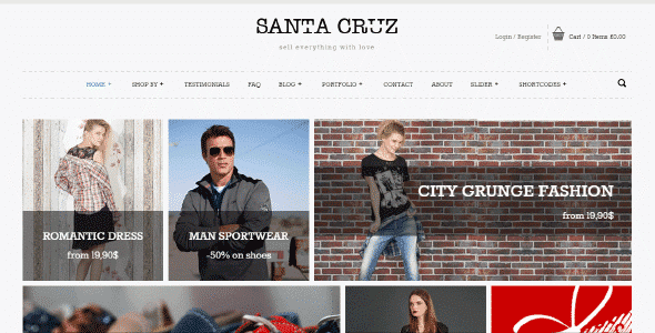 Tema Santa Cruz Yith - Template WordPress