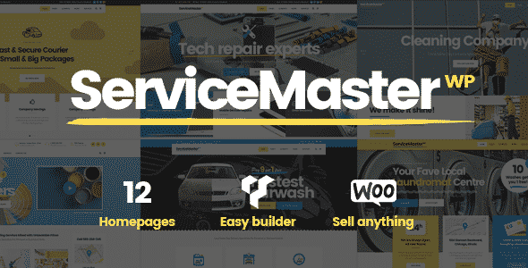 Tema Service Master - Template WordPress