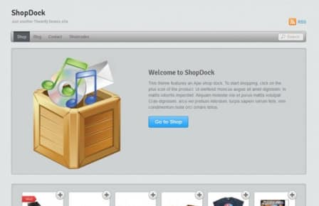 Tema Shopdock Themify - Template WordPress