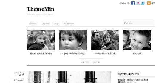 Tema ThemeMin Themify - Template WordPress
