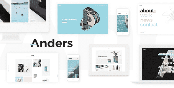 Tema Anders - Template WordPress