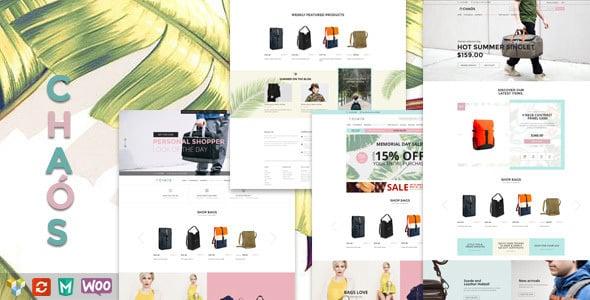 Tema Chaos - Template WordPress