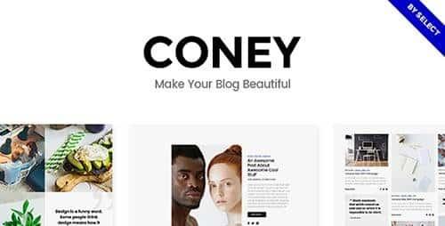 Tema Coney - Template WordPress