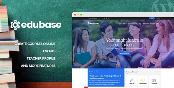 Tema Edubase - Template WordPress