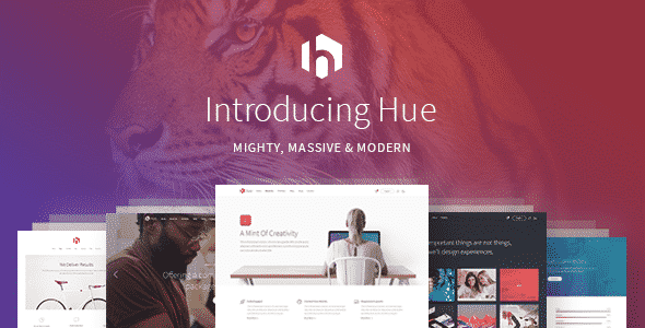 Tema Hue - Template WordPress
