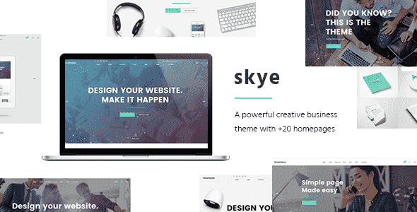 Tema Skye - Template WordPRess