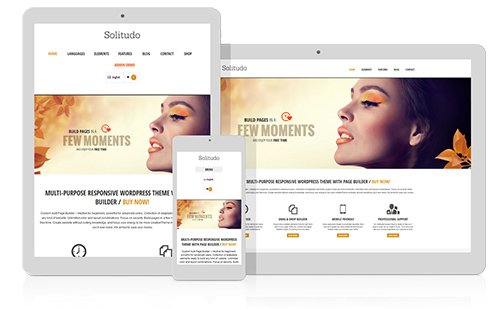 Tema Solitudo - Template WordPress