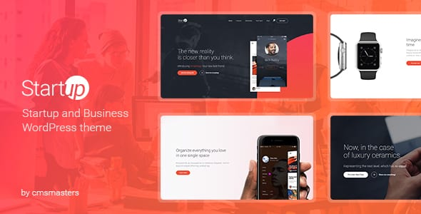 Tema StartUp Company - Template WordPress