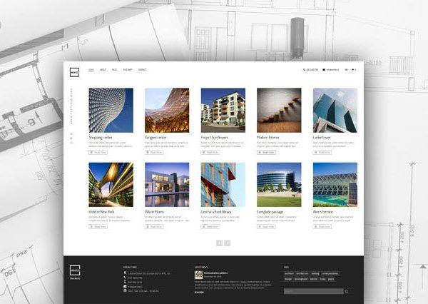 Tema Architect AIT - Template WordPress