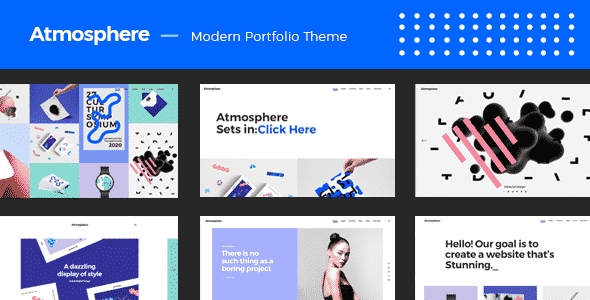 Tema Atmosphere - Template WordPress