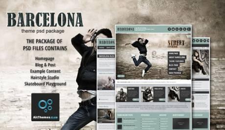 Tema Barcelona AIT - Template WordPress