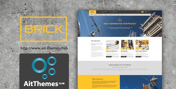Tema Brick AIT - Template WordPress