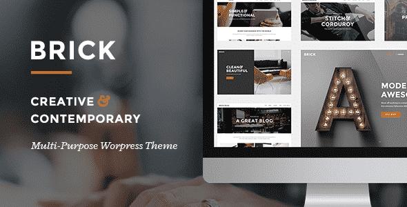 Tema Brick - Template WordPress