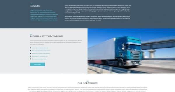 Tema Cargo AIT - Template WordPress
