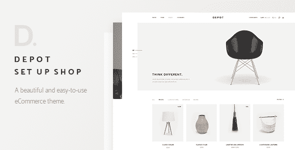 Tema Depot - Template WordPress