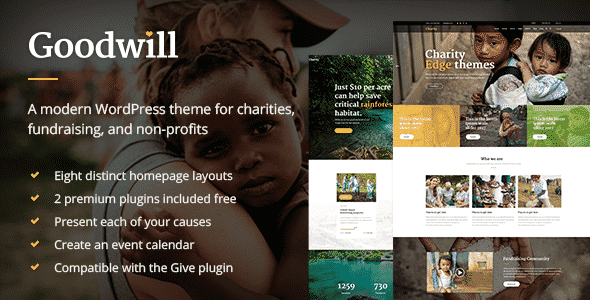 Tema GoodWill - Template WordPress