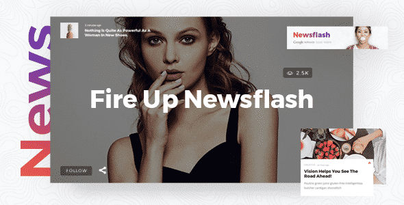 Tema NewsFlash - Template WordPress