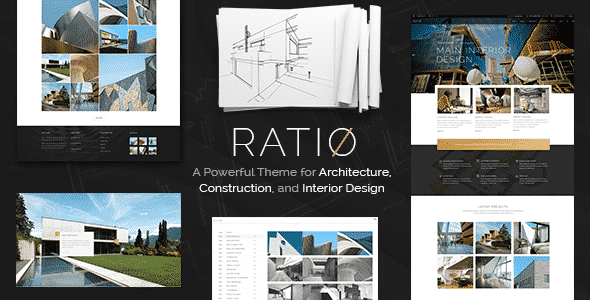 Tema Ratio - Template WordPress
