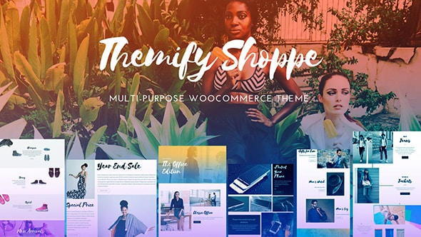 Tema Shoppe Themify - Template WordPress