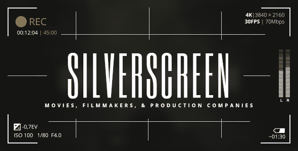 Tema Silverscreen - Template WordPress