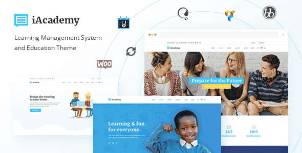 Tema iAcademy - TEmplate WordPress