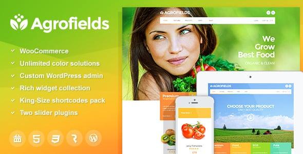 Tema Agrofields - Template WordPress