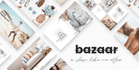 Tema Bazaar - Template WordPress