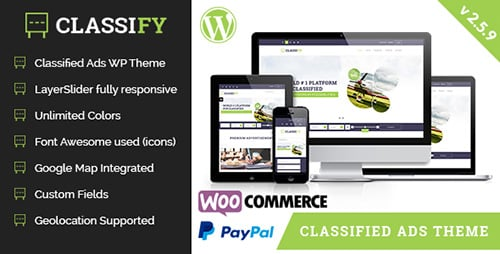 Tema Classify - Template WordPress