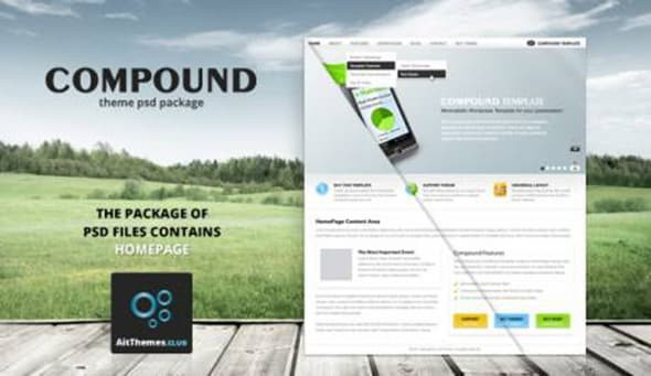 Tema Compound - Template WordPress