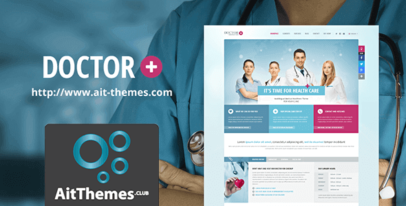 Tema Doctor Plus - Template WordPress