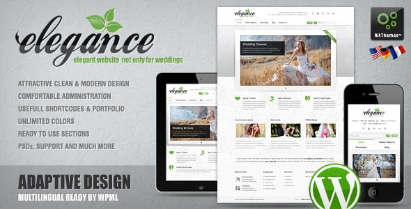 Tema Elegance AIT - Template WordPress