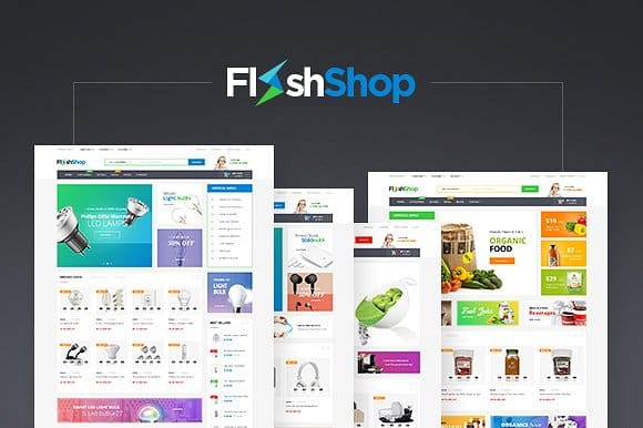 Tema FlashShop - Template WordPress