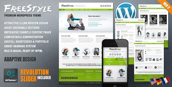 Tema Freestyle AIT - Template WordPress