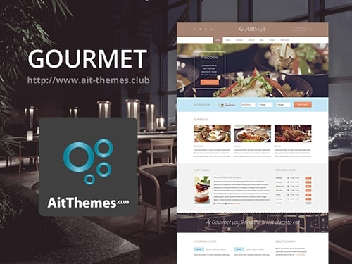 Tema Gourmet AIT - Template WordPress