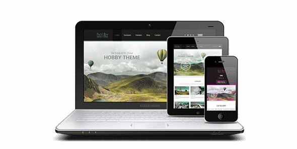 Tema Hobby AIT - Template WordPress