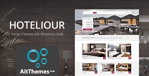 Tema Hoteliour - Template WordPress