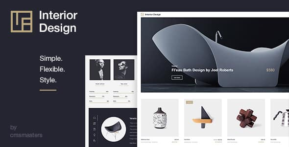 Tema Interior Design - Template WordPress