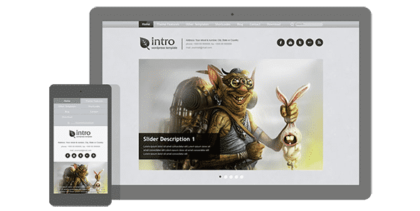Tema Intro AIT - Template WordPress
