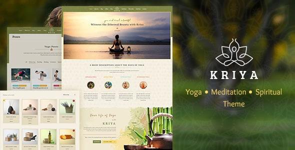 Tema Kriya Yoga - Template WordPress